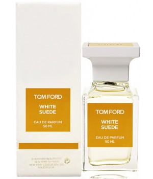 TOM FORD WHITE SUEDE